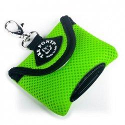 Pojemnik na woreczki higieniczne zielony