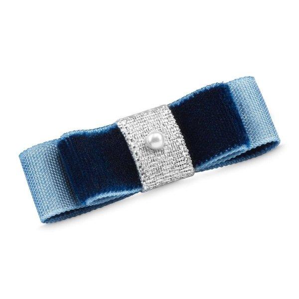 Niebieska spinka do włosów dla psa