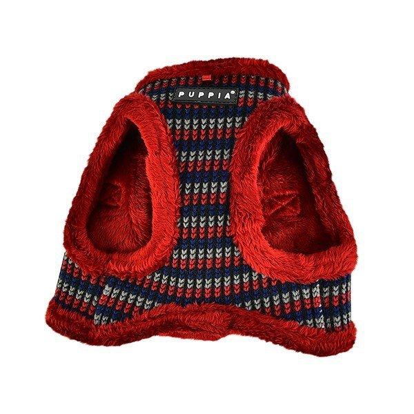 Ocieplane, szelki - kamizelka w kolorze czerwonym od Puppia