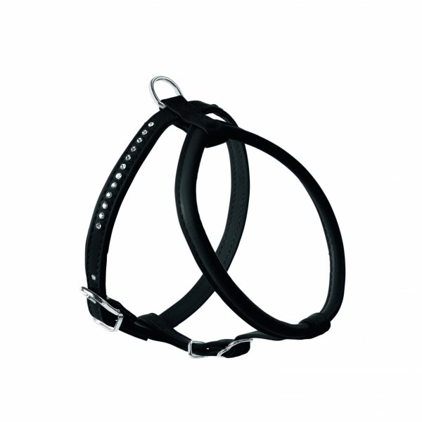 Harness MODERN ART ROUND black Hunter