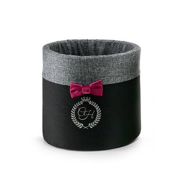 Box for toys PARIS black