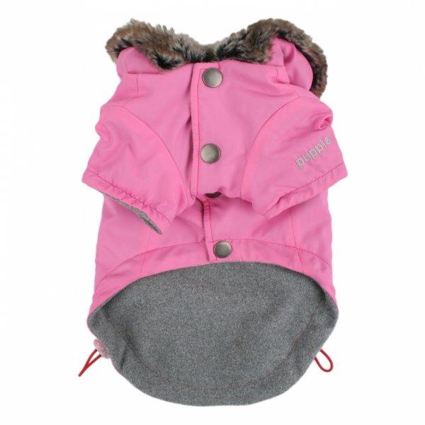 Zimowa kurtka COUP D'ETAT pink Puppia