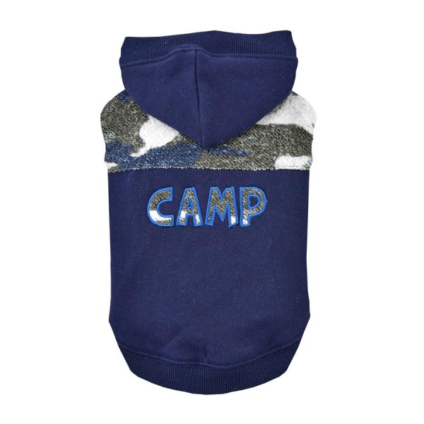 Ocieplana Bluza CAMP granatowa od Puppia