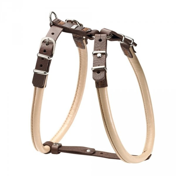Harness CALGARY ELK beige bulldog and pug Hunter