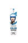 Elysee koloryzująca pianka do włosów 75 ml. Kolor niebieski. Nr 42.