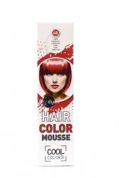 Elysee koloryzująca pianka do włosów 75 ml. Kolor rubinowy. Nr 48.