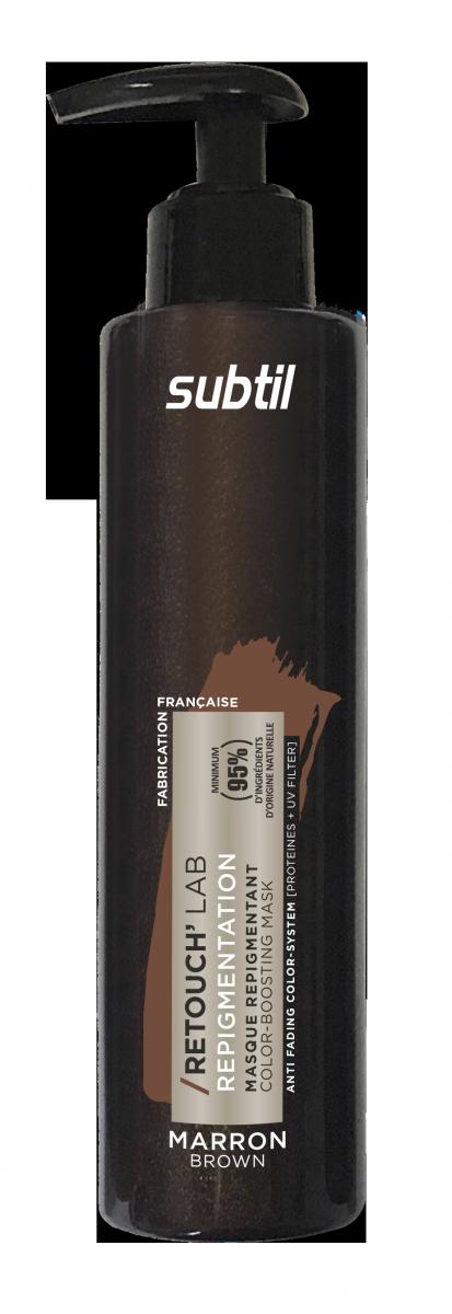 Odżywka do włosów koloryzująca Retouch  BRĄZ. Pielęgnacja repigmentująca 195 ml.