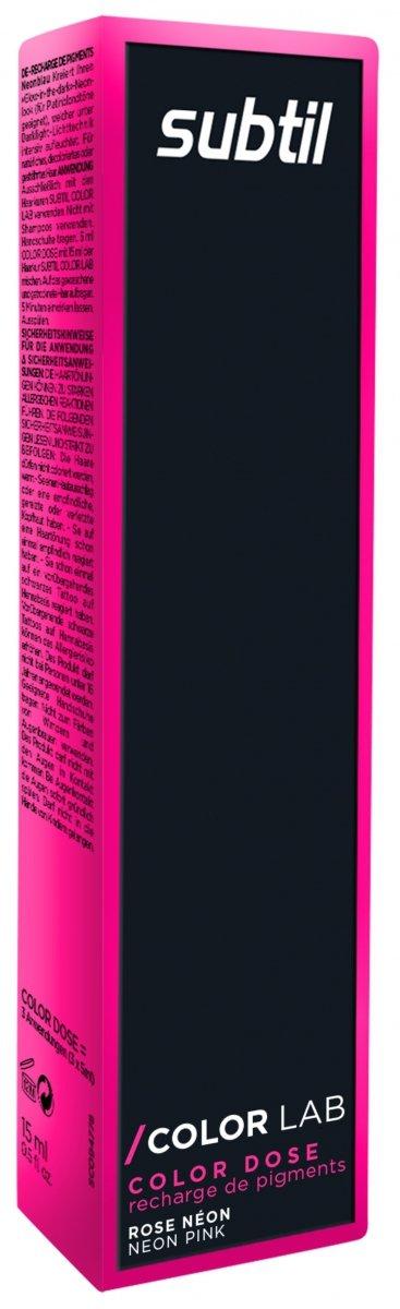 Color Dose NEON 15 ml RÓŻOWY Subtil