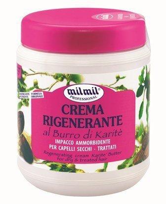 Mil Mil Crema Rigenerante Karite - Maska restrukturyzująca karite 1000 ml