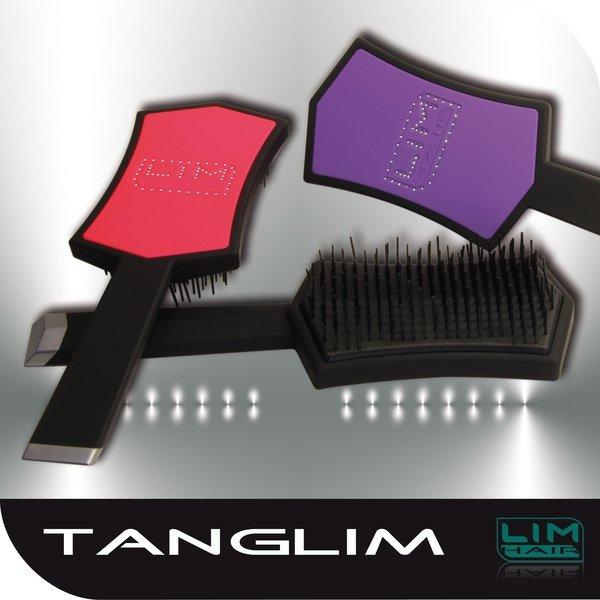 LIM Tanglim Szczotka do rozczesywania włosów kolor purpurowy