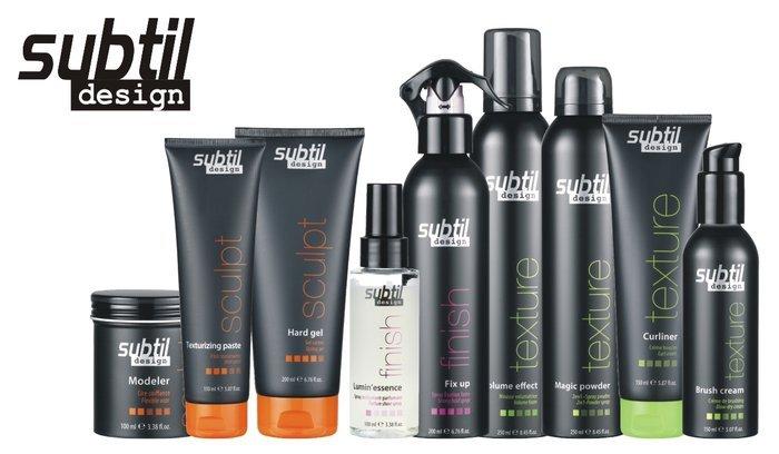 SUBTIL DESIGN SCULPT Super Mocny Żel do Stylizacji Włosów 500 ml
