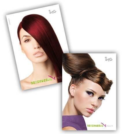 ING Coloring Cream 100 ml - odcień: 7.44 Intensywny Miedziany Blond (Miedziane)