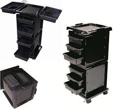 Wózek fryzjerski - pomocnik Modus Ikeart - z logo Subtil