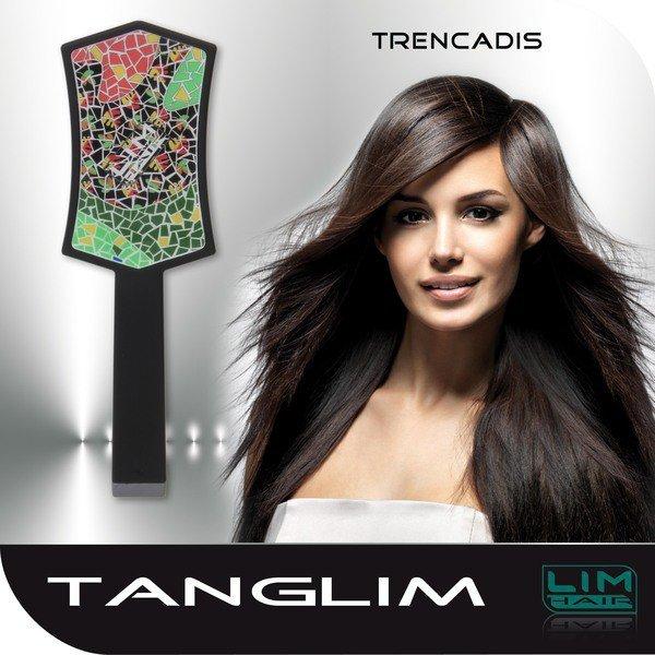 LIM Tanglim szczotka do rozczesywania włosów Kolorowa Mozaika