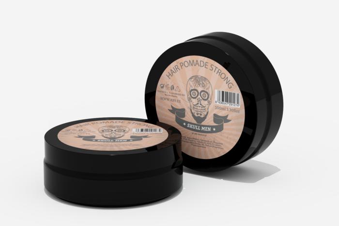 Skull Men - Mocna Pomada do Stylizacji Włosów dla Mężczyzn 100 ml