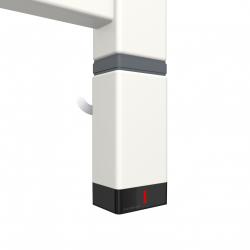 Grzałka One P30x40 120W Kolor Biały z Kablem Spiralnym