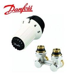 Zestaw Termostatyczny Kątowy Danfoss Panda M30X1,5