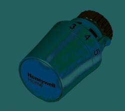 Kompaktowa Głowica Termostatyczna Gładka Thera-5 Biała