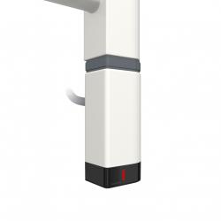 Grzałka One D30x40 Prawy 1000W Kolor Biały z Kablem Spiralnym