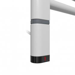 Grzałka One D30x40 Lewy 120W Kolor Silver Mat z Kablem Spiralnym