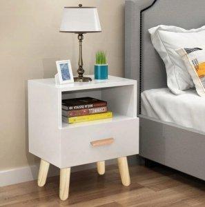 Szafka nocna szuflada stolik nocny ModernHome