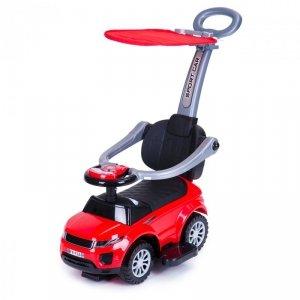 Jeździk chodzik pchacz 3w1 autko super car +daszek