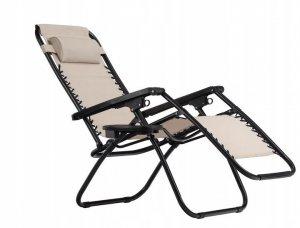 Leżak fotel ogrodowy rozkładany MODERNHOME
