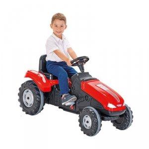 WOOPIE Traktor Na Pedały Farmer MegaTrac XL Czerwony