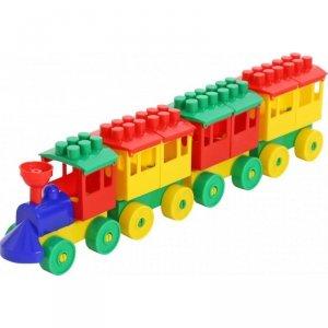 Pociąg Lokomotywa + 3 wagony