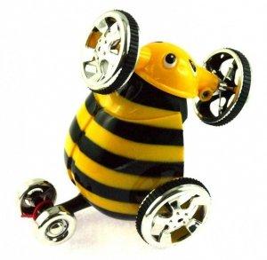 Mini samochód wyczynowy RC 1:28 - Żółty