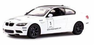 BMW M3 1:14 RTR (zasilanie na baterie AA) - Biały