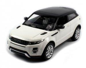 Range Rover Evoque 1:14 RTR (zasilanie na baterie AA) - Biały