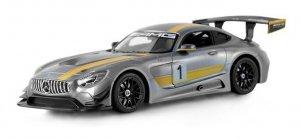 Mercedes-AMG GT3 1:14 RTR (zasilanie na baterie AA) - Szary