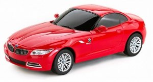 BMW Z4 1:24 RTR (zasilanie na baterie AA) - Czerwony