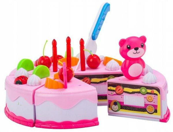 Zestaw urodzinowy - Tort do krojenia 80 elementów