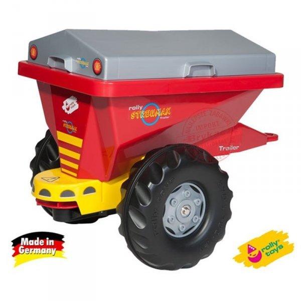 Rolly Toys rollyTrailer Przyczepka / Siewnik Piaskarka 2w1