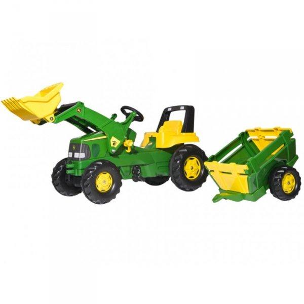 Rolly Toys rollyJunior Traktor Na Pedały John Deere