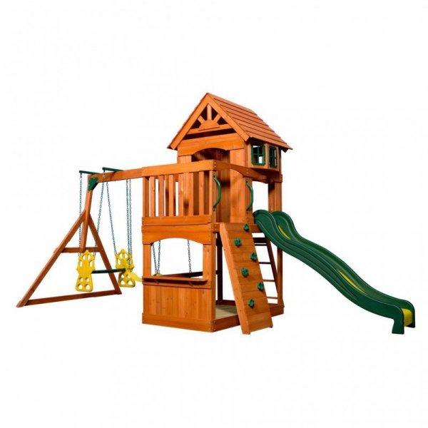 Ogromny Drewniany Plac Zabaw Atlantic Backyard Discovery Step2 + Stolik gratis!
