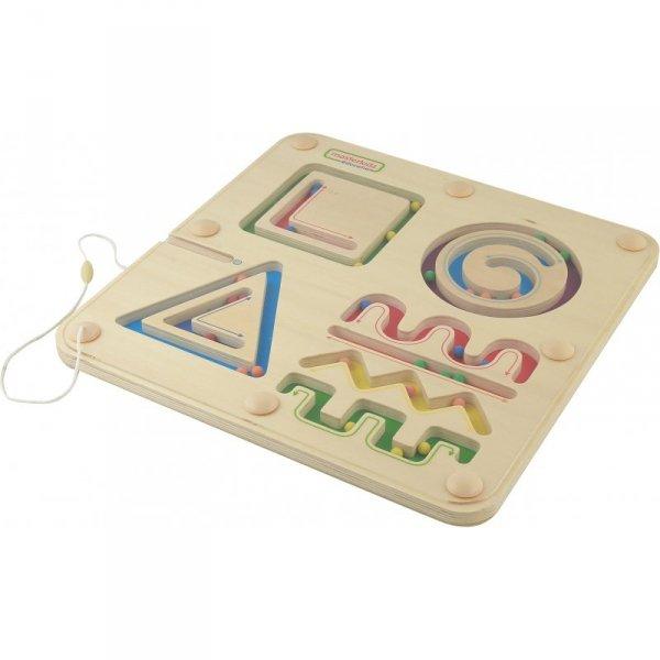 Magnetyczny Labirynt Linie Kształty Figury Geometryczne Masterkidz