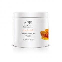 APIS Sweet Honey Body Cukrowy Peeling Do Ciała Z Miodem 700g