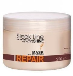 Stapiz Sleek Line Repair & Shine maska z jedwabiem 250 ml
