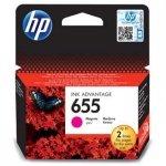 HP oryginalny wkład atramentowy / tusz CZ111AE#BHK. No.655. magenta. 600s. HP Deskjet tusz Advantage 3525. 5525. 6525. 4615 e-AiO CZ111AE#BHK