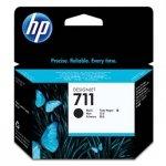 HP oryginalny wkład atramentowy / tusz CZ133A. No.711. black. 80ml. HP DesignJet T120. T520 CZ133A