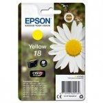 Epson oryginalny wkład atramentowy / tusz C13T18044012. T180440. yellow. 3.3ml. Epson Expression Home XP-102. XP-402. XP-405. XP-302 C13T18044012