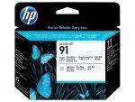 HP oryginalna głowica drukująca C9463A. No.91. photo black/light grey. HP DesignJet Z6100