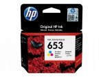 HP oryginalny ink / tusz 3YM74AE, Tri-colour, 200s, HP 653, HP DeskJet IA 6000, IA PLUS 6400