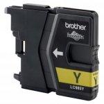 Brother oryginalny wkład atramentowy / tusz LC-985Y. yellow. 260s. Brother DCP-J315W LC985Y