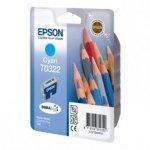 Epson oryginalny wkład atramentowy / tusz C13T032240. cyan. 420s. 16ml. Epson Stylus Color C80. C70