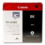 Canon oryginalny wkład atramentowy / tusz PFI303BK. black. 330ml. 2958B001. ploter iPF-810. 820