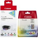 Canon oryginalny wkład atramentowy / tusz IP4200 CLI-8 BK+PC+PM+R+G 420str 0620B027